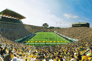 Get ready to get rowdy! (photo by Curtis Reed Photography, courtesy of UO)