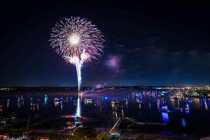 Holiday Flotilla Fireworks
