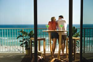 Couple on Balcony
