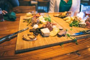 Playalinda Brewery Brix Project charcuterie board