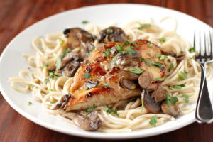 Plated Chicken Marsala from RBG Bar & Grill in Seattle Southside