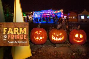 Farm to Fringe event at the Rochester Fringe Festival