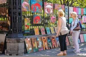 Jackson Square Local Shopping