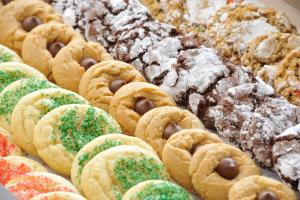 Der Dutchman holiday cookie tray