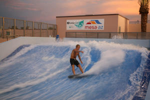 FlowRider at Rhodes Aquatic Complex Water Recreation