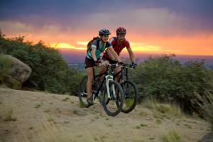 Biking Foothills