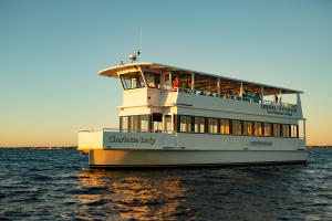 "Photo of vessel ""Charlotte Lady"" from King Fisher Fleet on Sunset Tour in Charlotte Harbor/Peace River"