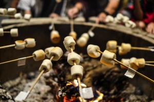 Smores Over Campfire
