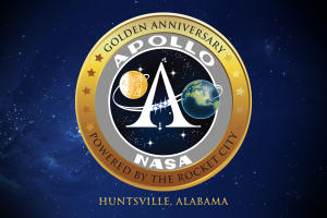 Apollo 50th badge