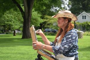 Historic Huguenot Street - Artists on the Street: A Plein Air Event
