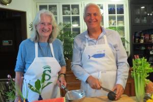 Mrs. Peter A. Salm & Brian Hetrich by Anne-Marie
