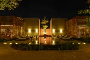 Nizuc Courtyard at Night