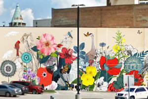 mural by Yulia Avgustinovich