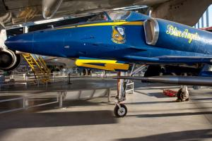 See a Blue Angels Jet at The Museum of Flight