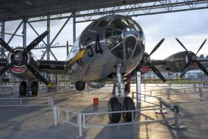 See a real bomber at the Museum of Flight