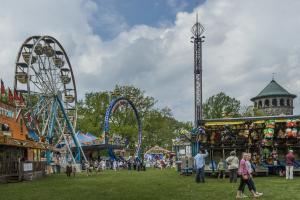 Carnival Rides at Flower Market