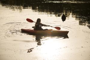 Kayak at Savannah Rapids