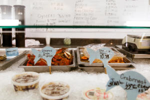Fresh seafood for sale, O'Neal's Sea Harvest,North Carolina