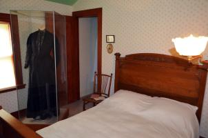Bedroom at Susan B. Anthony House