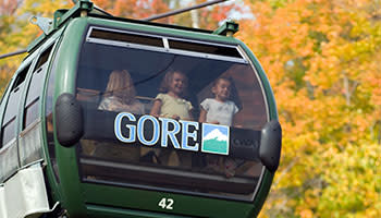 Fall festival at Gore Mountain. Gondola Ride