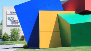 fun architecture of the Museum of Play