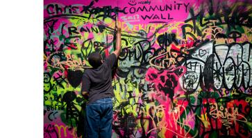 street art bump