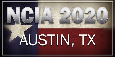 NCIA 2020 conference in austin texas Logo