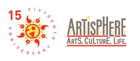 Artisphere 15th Anniversary Logo