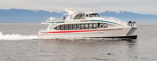 Only Puget Sound Express offers a half-day Seattle whale watching option year round