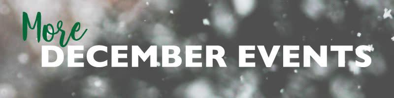 December Events Header Image