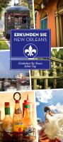 Explore New Orleans German Cover