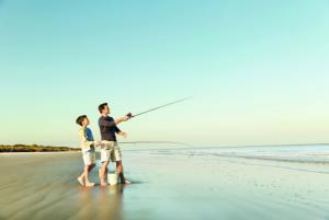 Fishing in the Golden Isles