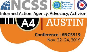 NCSS 2019 annual convention in austin texas Logo