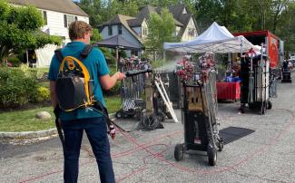 Film equipment is frequently disinfected under new state guidelines