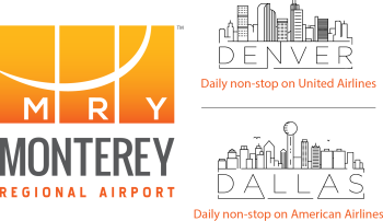 Monterey Regional Airport Denver-Dallas Logo
