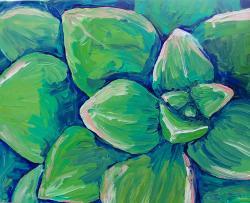 Succulent Painting