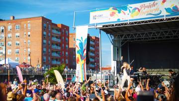 Concert for Pride on the Beach