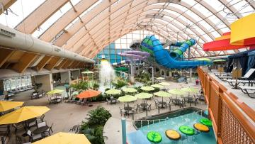 Overview of Kartrite Waterpark