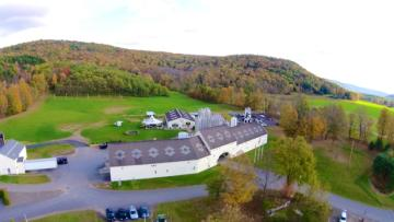 Brewery Ommegang - Aerial View - Photo Courtesy of Central NY