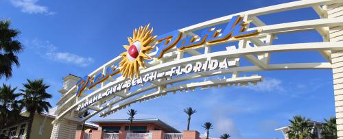 Pier Park Sign