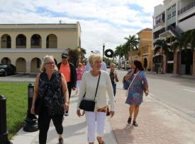 SW Florida Walking Tours in Downtown Punta Gorda