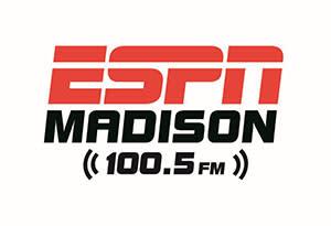 ESPN 100.5 FM Madison Logo