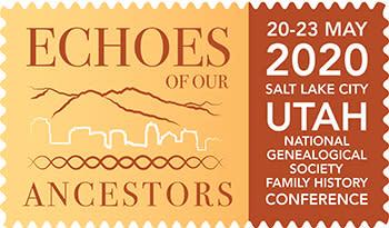 National Genealogical Society 2020 logo