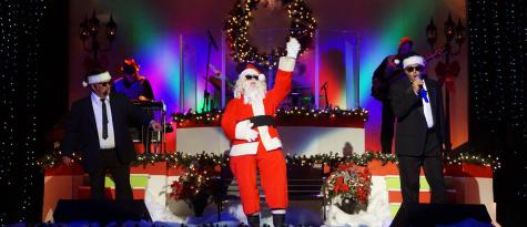 Live @ The Rudy Christmas Show a great event for families in Selma, NC.