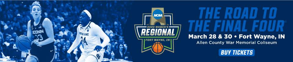 NCAA D1 Women's Basketball Regional 2020