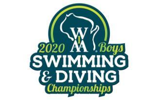 WIAA Boys Swimming & Diving 2020 logo
