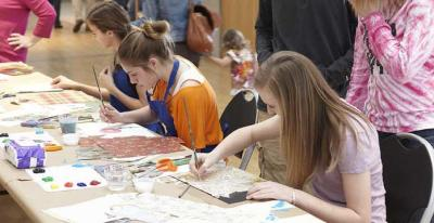 Take the kids to the Kimbell for St. Patrick's Day fun