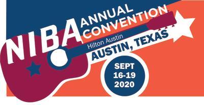 Logo for NIBA Annual Convention 2020 in Austin Texas