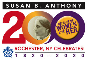 Susan B. Anthony 2020 Logo