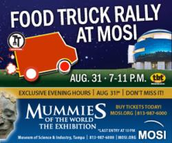 Food Trucks, Mummies, and Movies at MOSI